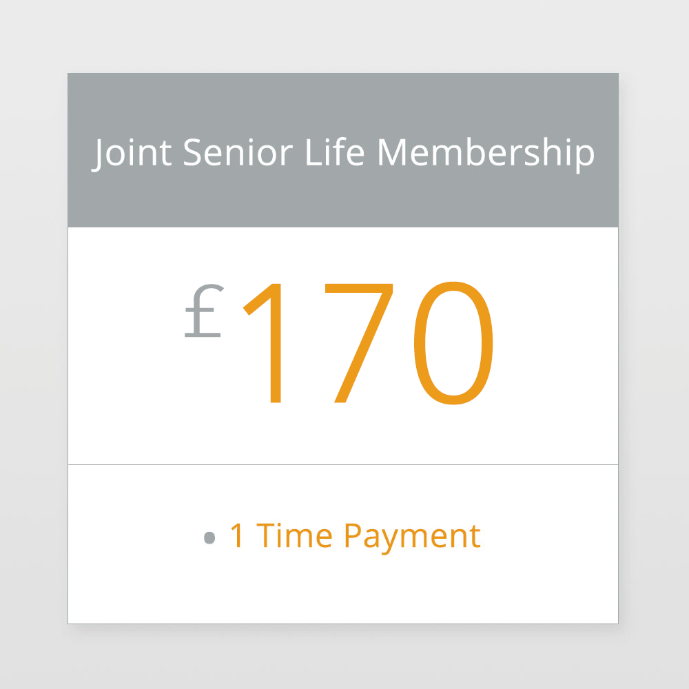 Joint Senior Life Membership £170