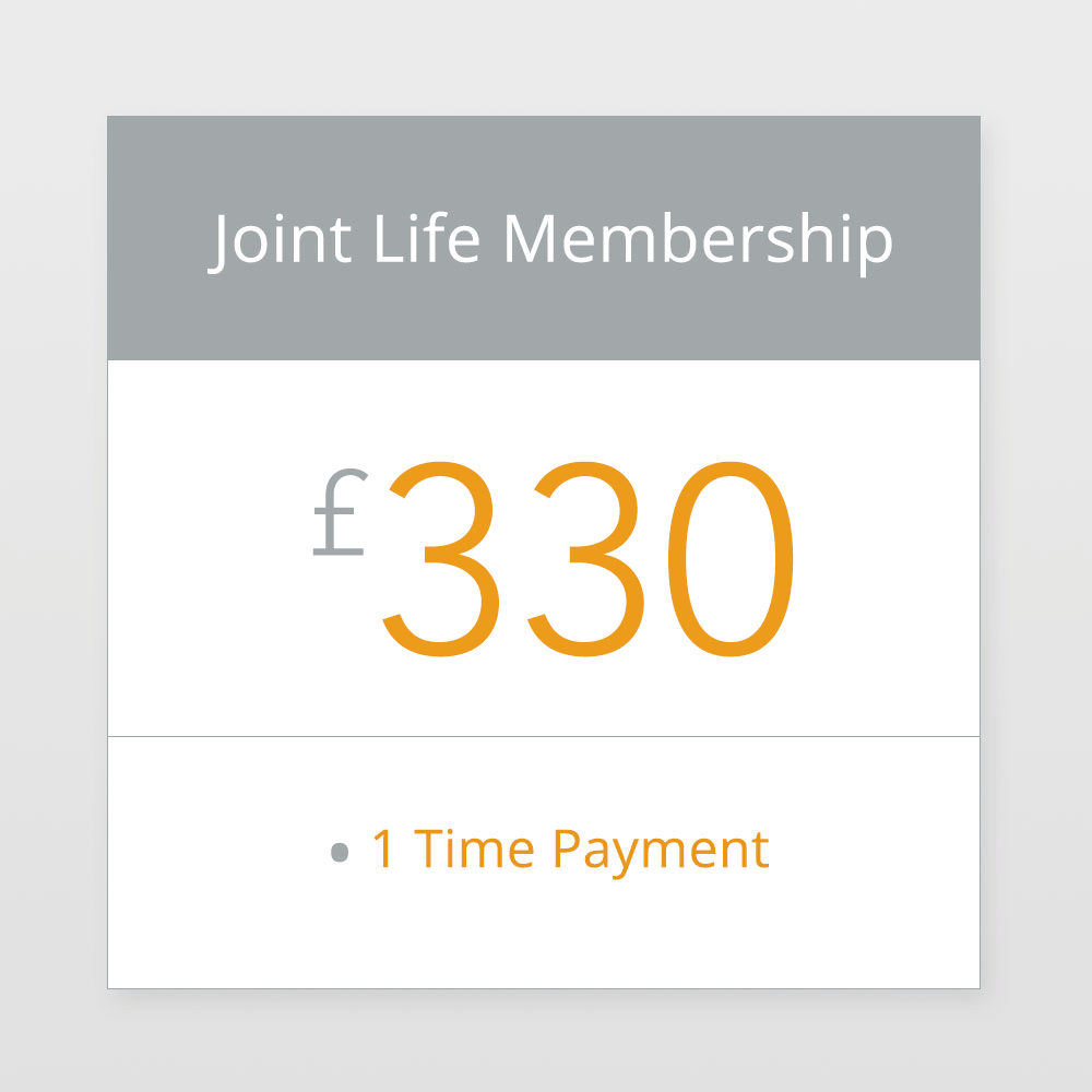 Joint Life Membership £330