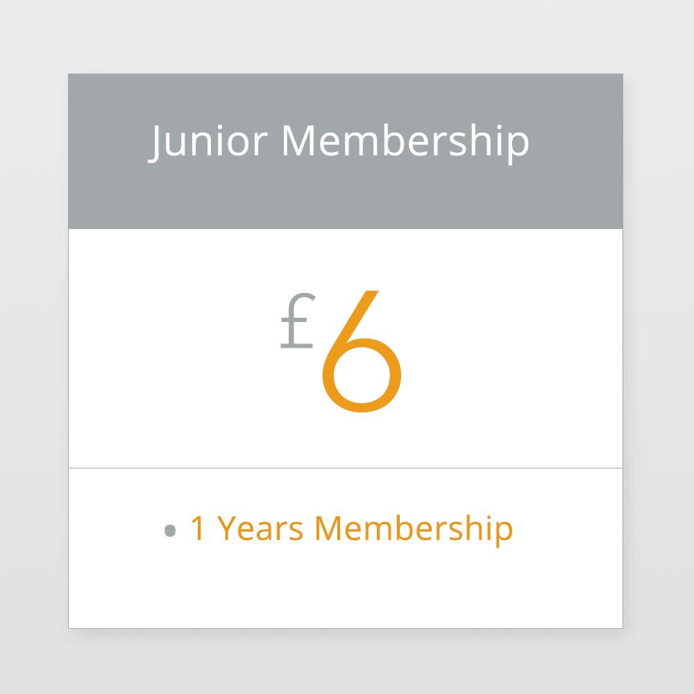 Junior Membership £6